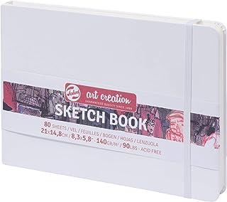 Talens Sketchbook Cuaderno de bocetos (21x 14.8cm, 160g/m², 80hojas, color blanco