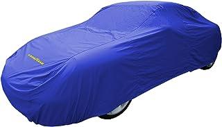comprar comparacion Goodyear Cubierta de coche de alta calidad - Protección impermeable para interiores / exteriores - Grande – Azul