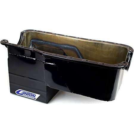 Canton Racing 15-389 Oil Pan 1 Pack for Pontiac Stock Replacement Unplated