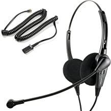 $64 » Phone Headset Compatible with Avaya Nortel Phone Headset for M2216 M2312 M3903 M3904 M3905 M5200 Series Classic Style Nois...