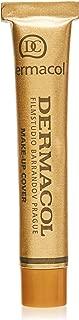 Dermacol Make-up Cover - High Covering Waterproof Foundation SPF30, Golden Dark Beige 222, 30g, 31.8 Grams