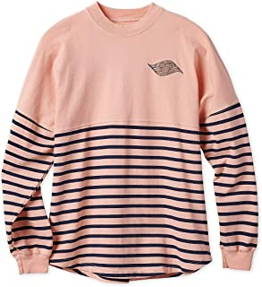 Cruise Line Spirit Jersey for Girls Striped Rose Gold