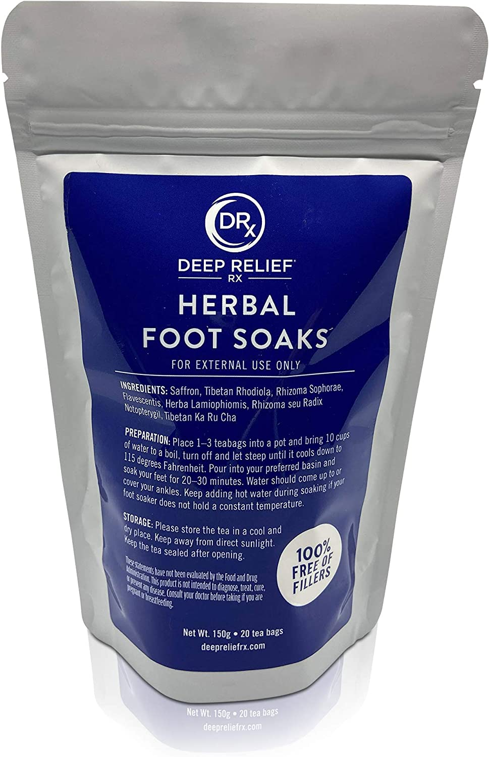 Herbal Limited Special Price Foot Soak 20 Limited time cheap sale Tea Bags for Feet Tr w - Bath