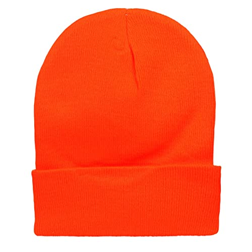 67559ef3ba8 Cap911 2040USA Unisex Plain 12 inch Long Beanie - Many Colors