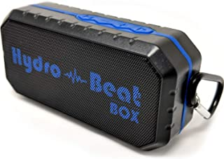 Portable Waterproof Bluetooth Shower Speaker – HB BeatBox – Wireless Shockproof Dustproof Weatherproof portable speaker, four connection types, Perfect For Sports, Outdoors, Indoors, Pool, Shower
