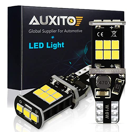 AUXITO 912 921 LED Backup Light Bulbs High Power 2835 15-SMD Chipsets Extremely Bright