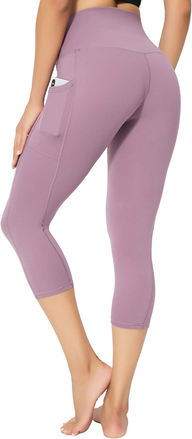 oyioyiyo High Waisted Leggings for Women Tummy Control Yoga Pants Athletic Workout Running Leggings