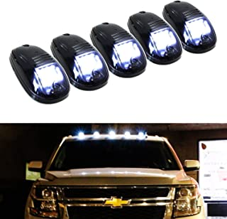 Amber Cover Cab Marker Lights Roof Top Clearance Running Lights w//Wiring Harness Pack For 99-02 Dodge Ram 2500 3500 SUV Truck Pickup RV TadaMark 5x Replacement 9 Amber LED