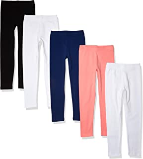 Amazon Essentials 5-Pack Girls Legging - Leggings-Pants Niñas