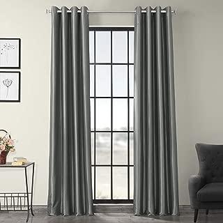 Best silk curtains silver Reviews
