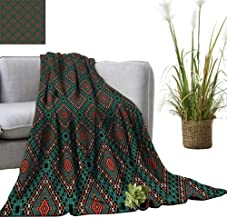 YOYI Baby Blanket Ancient Border Navajo Tribal Indoor/Outdoor, Comfortable for All Seasons 60