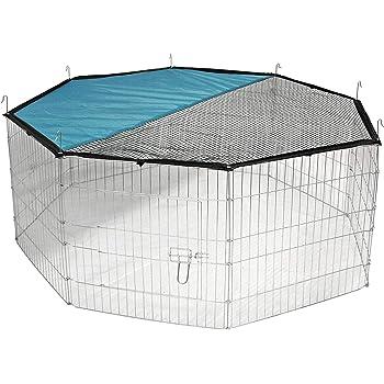 Kerbl Freigehege aus 8 Gittern, verzinkt, Ø 143 cm