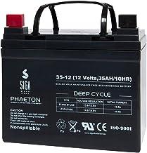 Akku 35Ah 12V AGM Gel Batterie Solar Golf Caddy Cart Trolley ersetzt 33Ah 35Ah 36Ah 40Ah