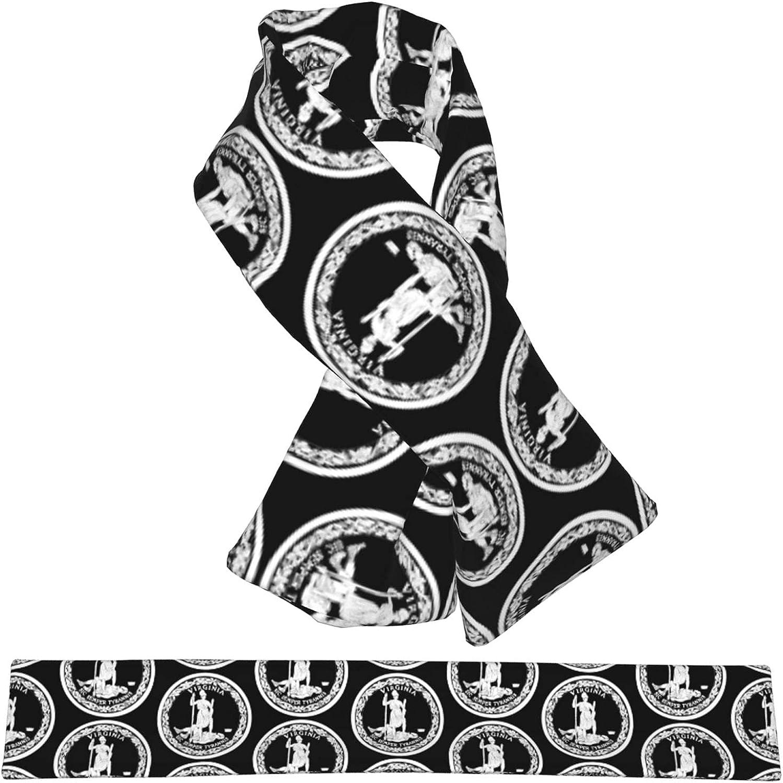 Flag Of Virginia quality assurance Many popular brands Flannel Cross Collar Warm Neck Wrap Scarf Shawl