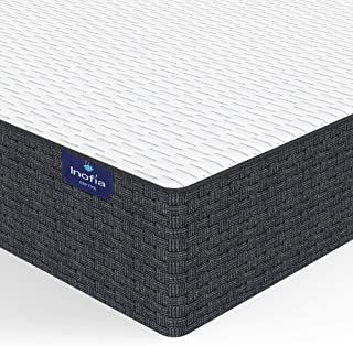 Inofia Twin Mattress 10 Inch, Adaptive Foam Mattress in a Box, Sleep Cooler with More Pressure Relief & Support Than Memory Foam, CertiPUR-US Certified, 100-Night Sleep Trial, 10 Years Warranty