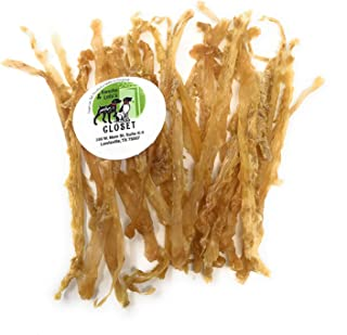 Sancho & Lola's Tendons for Dogs - Beef or Turkey - Made in USA Naturally Grain-Free Rawhide-Free Chews Dogs