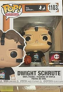 Funko Pop! The Office Dwight Schrute #1103 Exclusivo con cáliz Collectibles Pop Protector Case