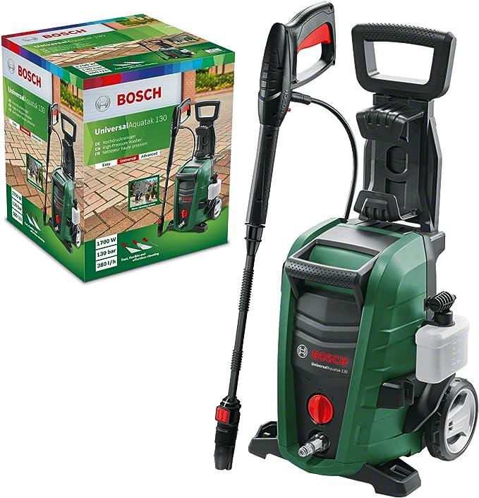 2212 opinioni per Bosch Home and Garden 06008A7B00 Idropulitrice, 1700 W, 130 bar, Verde,