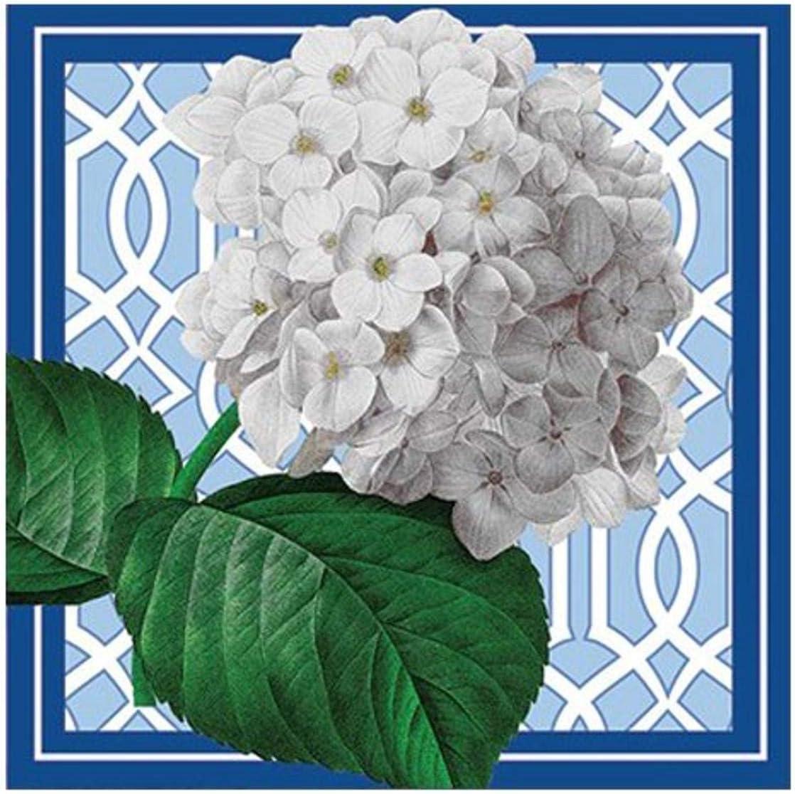 Hydrangea Botanical Tea Towel