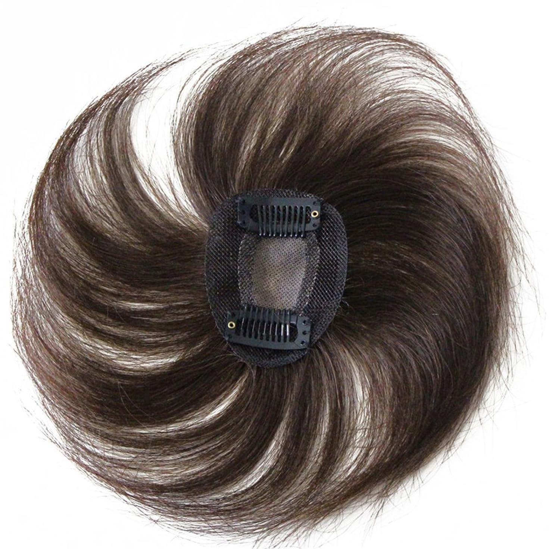 早熟解放する操作可能Remeehiヘアピース トップビース つむじカバー ヘアピース 白髪隠し ボリュームアップ