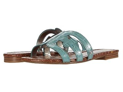 Sam Edelman Bay (Blue Sage Splendor Croco Leather) Women
