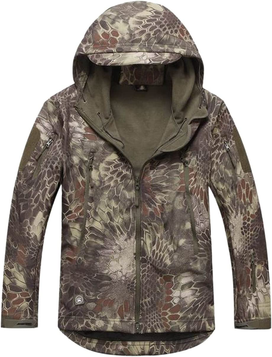 Scorpion Tactical Soft Shell Mens Hooded Sna Military Miami Mall Waterproof Max 89% OFF
