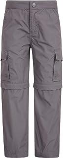 Mountain Warehouse Pantalón Convertible Active para niños - Pantalón Ligero para niños, pantalón de Secado rápido, Bolsill...