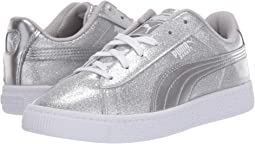 defde88fabc252 Girls Glitter Puma Kids Shoes + FREE SHIPPING