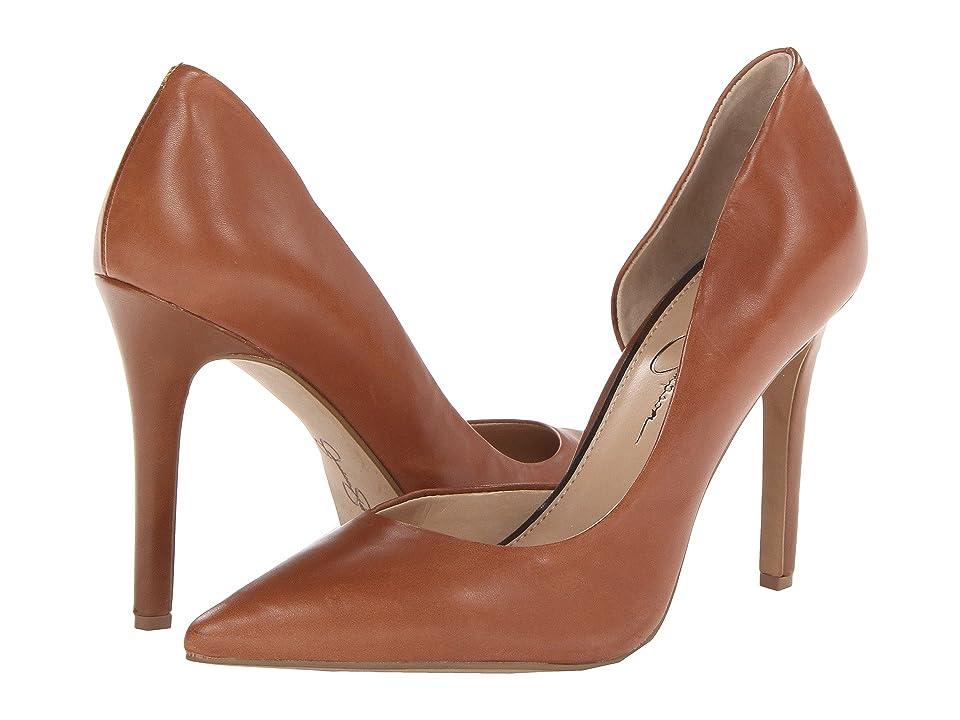 Jessica Simpson Claudette (Burnt Umber) High Heels