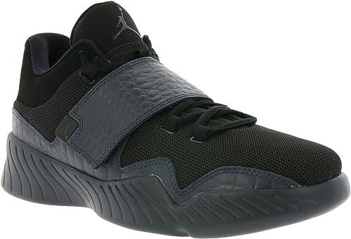 zapatos Bajos Nike Jordan J23 en Cuero negro y Tejido