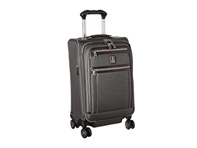 Travelpro Platinum(r) Elite 21 Expandable Carry-On Spinner (Vintage Grey) Luggage