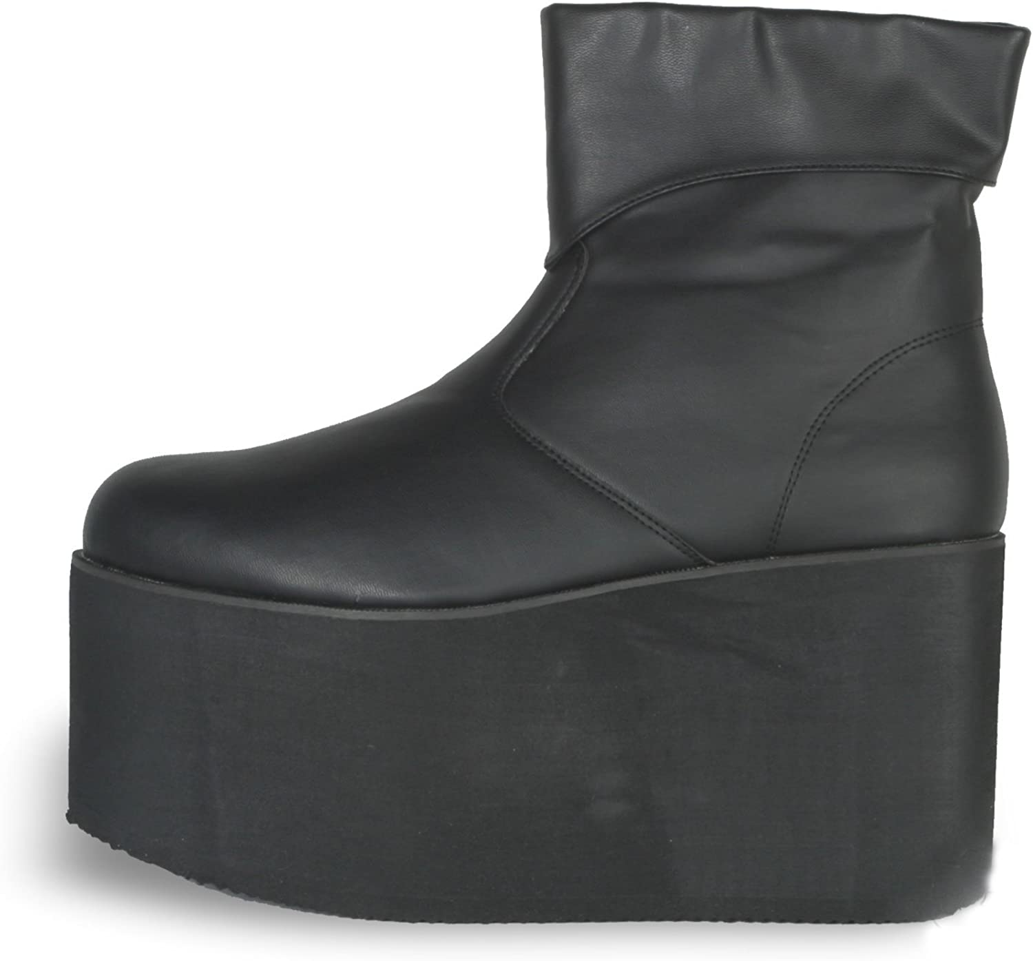 PLEASER 19630 Monster Boots Adult Size Small 8-9