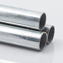 en longueurs de /à 1500/mm 3//4 B /& T Acier Tube rond m/étal galvanis/é /Ø 26,9/x 2,6/mm 0//3/mm construction Tube ST37/chaud Profil creux