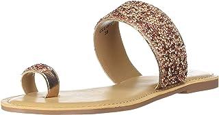 Carlton London Women's Black Fashion Slippers