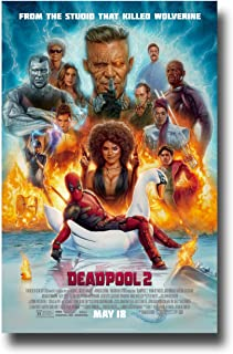 DeadPool 2 Poster Movie Promo 11 x 17 inches Dead Pool Two DP2 Main