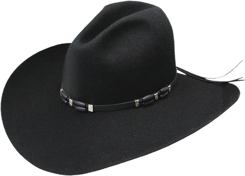 RESISTOL Men's 2X excellence Cisco Felt Same day shipping - Hat Rwcsco-694307 Cowboy Black