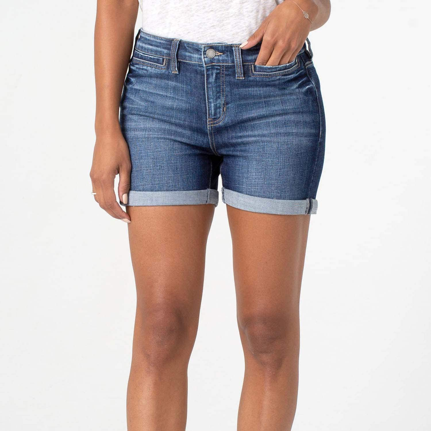 Liverpool Womens Vickie Welt Pockets Shorts