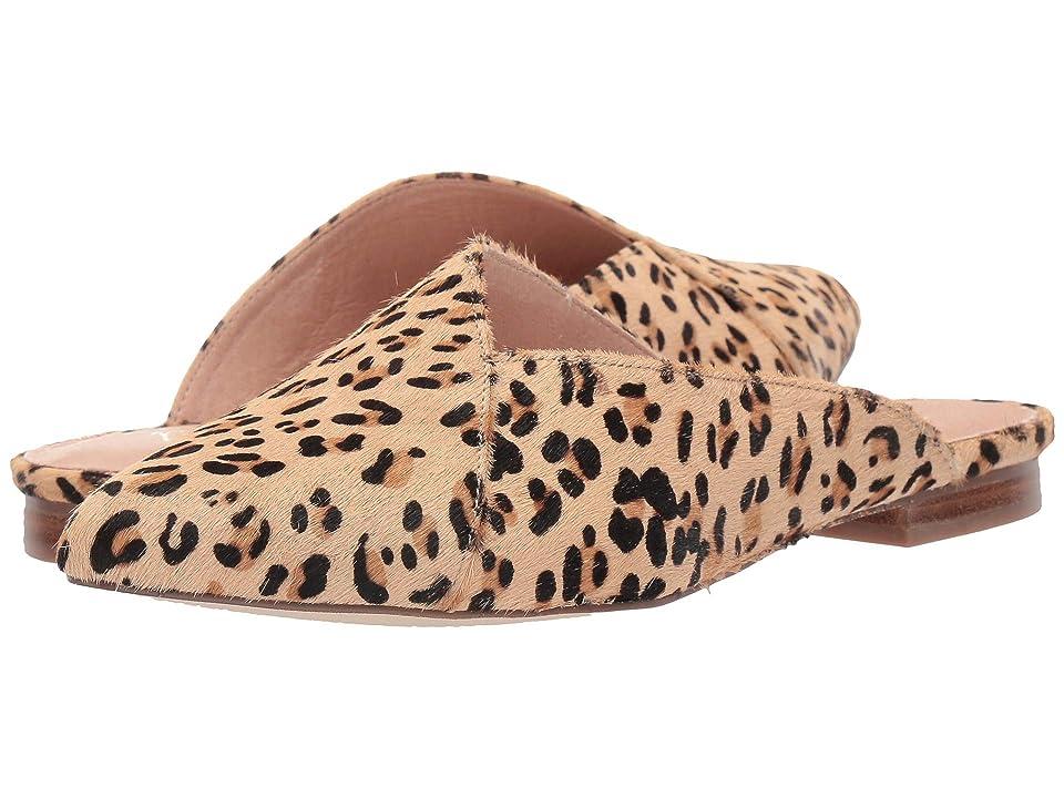 Matisse Lana Slip-On Mule (Leopard Cowhair) Women