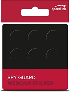 Speedlink SPY Guard Webcam Sticker Set of 6, Black