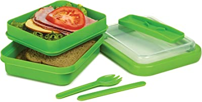 Prep Solutions by Progressive Sandwich Box Blue Green