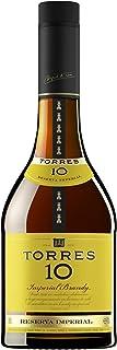 TORRES BRANDY 10 RESERVA IMPERIAL 1x 0,7l – aus der spanischen Weinbauregion Penedès – im Solera-Verfahren gereift – 70cl mit 38% vol.
