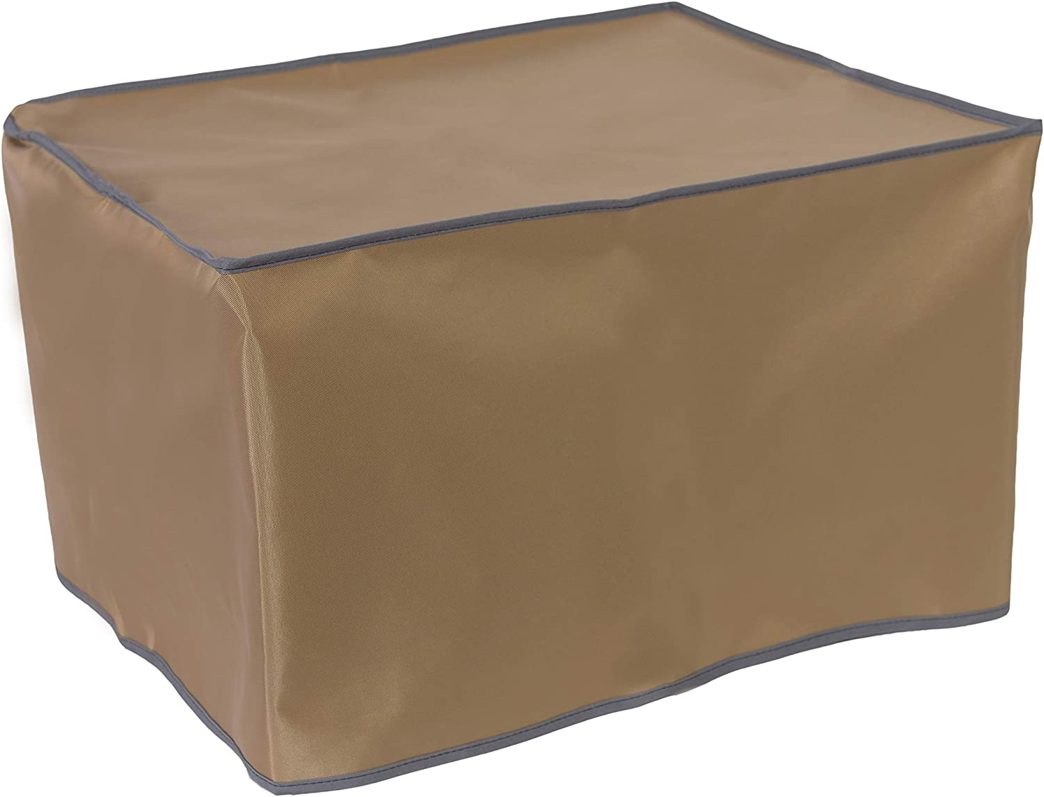 The Perfect Dust Cover, Tan Nylon Cover Compatible with Epson EcoTank-Pro ET-5150 All-in-One Printer, Anti Static and Waterproof Dimensions 14.8''W x 13.7''D x 13.6''H by The Perfect Dust Cover