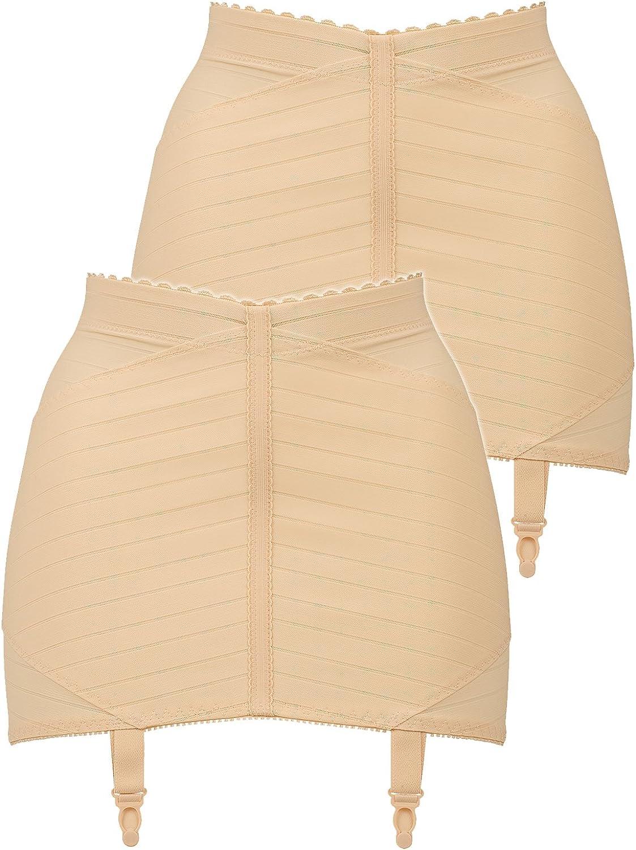 Naturana Pack of 2 Women's Suspender Belts 2023