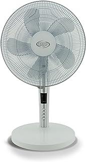 ARGO Tablo White Ventilador de Mesa, 60 W, ABS, 3 Velocidades, Blanco