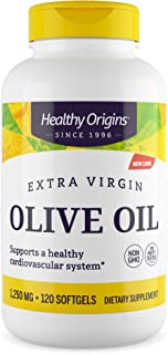 Healthy Origins Extra Virgin Olive Oil Softgels, 120 Count