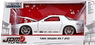 Jada 1: 24 JDM - '85 Mazda RX-7 Fc Die-cast Toy, White