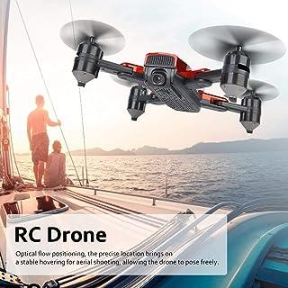 طائرة بدون طيار، كوادكوبتر قابلة للطي، طائرة رباعية المراوح لالتقاط الصور الجوية للمبتدئين (5 ملايين (1080 بكسل) كاميرا وا...