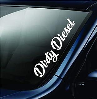 """Hellabroke sticker JDM slammed windshield drift lowered car window decal 23/"""""""