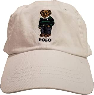 Polo Ralph Lauren Mens Teddy Bear Adjustable Ball Cap Hat