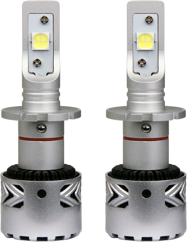 Auto Xenon Max 66% OFF White LED Bulbs 2pcs Beam HeadLight Ranking TOP1 Low for